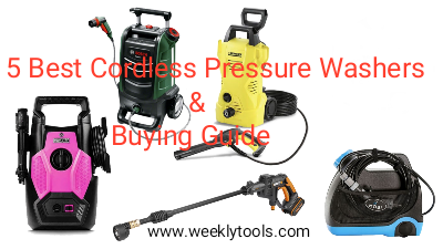 5 Best Cordless Pressure Washers & Buying Guide