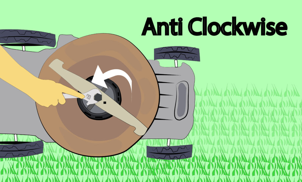 Remove Lawn Mower