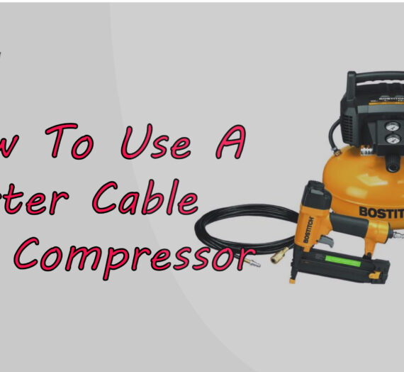 How To Use A Porter Cable Air Compressor