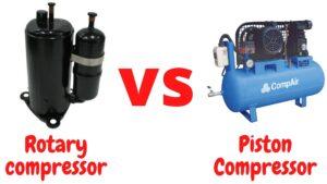 Rotary Vs Piston Compressor