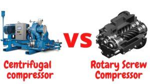 Centrifugal Air Compressor vs Rotary Screw