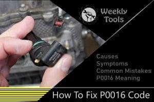 Fix P0016 dtc code