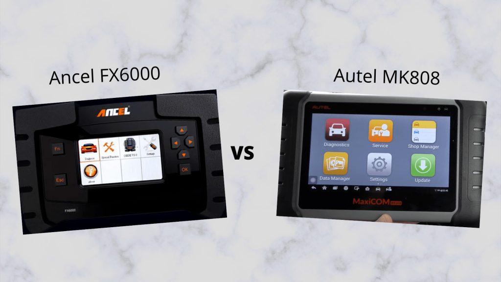Ancel FX6000 Vs Autel MK808